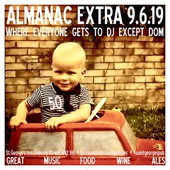 diary #Adjunct: Almanac Extra, 9th June 2019