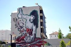 Viseu - street art (jaime.silva) Tags: lulagoce viseu portugal portugalia portugalsko portugália portugalija portugali portugale portugalsk portogallo portugalska portúgal portugāle streetart streetartist mural muralpainting pinturamural spray spraypainting spraypaint graf graffiti urban arteurbana urbanart wall wallart publicart