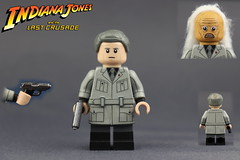 Custom LEGO Indiana Jones: Walter Donovan (Last Crusade) (Will HR) Tags: lego custom indiana jones last crusade walter donovan