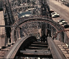 NY in the 80s 661 (stevensiegel260) Tags: coneyisland newyork rollercoaster cyclonerollercoaster 1980s cyclone
