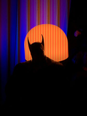 The Batman (misterperturbed) Tags: ascendingknight batman mezco mezcoone12collective one12collective lifx phillipshue