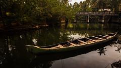 Canoe Rides - Munroe Island, India (Kartik Kumar S) Tags: munroe munroeisland kollam kerala india boat canoe canon tokina 1116mm landscape backwater