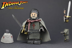 Custom LEGO Indiana Jones: Grail Knight (Last Crusade) (Will HR) Tags: lego custom indiana jones last crusade grail knight
