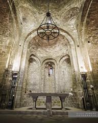 Col.legiata de St. Pere de Ponts (Joan Romero) Tags: altar collegiatastperedeponts ponts reconstruït romanic ngc sony sonyflickraward sonya77ii sigma1020 romanesque church catalunyaromanica