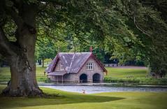 Maynooth golf course lake house (Carl Terlak) Tags: sony ireland ilce nex6 apsc sigma house green lens