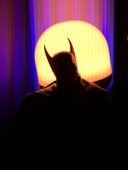 1609-145 Shadow of the Batman (misterperturbed) Tags: ascendingknight batman mezco mezcoone12collective one12collective lifx phillipshue