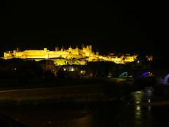 Carcassonne de noche (Patataasada) Tags: carcasona francia france medeval murallas castillo castle carcassonne occitania ciudadela