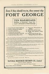 Prince George, railways, 1911 1 (bbradleyaway) Tags: bc britishcolumbia princegeorge cnr pge gtp