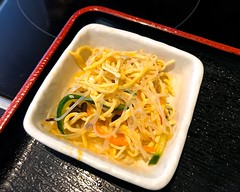 Chinese style seasoned shreds, cold dish appetizer served with lunch meal (DigiPub) Tags: 1151338118 gettyimages yokohama