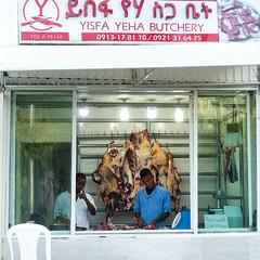 Addis Ababa (Jordan Barab) Tags: addisababa addis ethiopia street streetphotography sonydscrx100markiii africa butcher workers