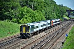 159013 (stavioni) Tags: swr swt south western railway class159 class158 dmu diesel multiple unit rail train express sprinter