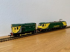 Bachmann Class 90 finally released after 5 years. 90042 Freightliner Powerhaul (cmc_1987) Tags: