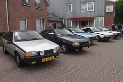 Renault Fuego meeting NL 2019 1 (Fuego 81) Tags: ohohrenault renault fuego ommen nl 2019 71srpd gl42px kk83xt 91xdn6 nr93kd