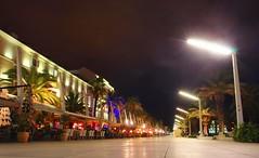 Split promenade (sfryers) Tags: waterfront promenade night lights colour split dalmatia croatia hrvatska smc pentaxda 15mm 14 limited tripod gorillapod longexposure