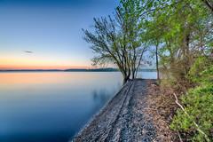 Lake Champlain Sunrise (walts photos) Tags: grandisle lakechamplain namedplaces northamerica northhero unitedstates vermont landscape manmade object scenic sunrise water what where
