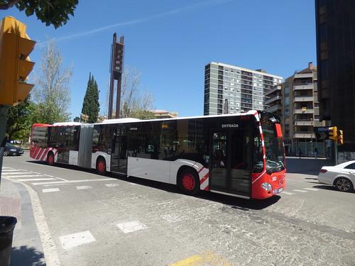 Bendy Bus - Carrer de Pere Martell, Tarragona