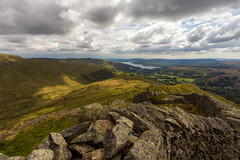 Fairfield Horseshoe (clementsriley) Tags: canon 6d 1740 1740mm lake district summer spring hills mountains green cloud sky cool sun warm stone