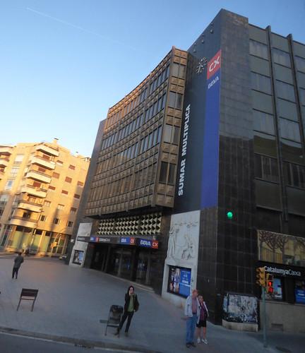 Catalunya Caixa BBVA CX - Placa de la Imperial Tarraco, Tarragona