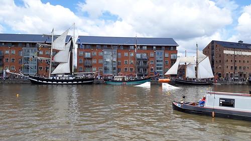 at Gloucester Tall Ships Festival