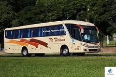 Tel Turismo - 1268 (RV Photos) Tags: telturismo bus onibus toco turismo br116 rodoviapresidentedutra marcopolo marcopolog7 viaggio900 mercedesbenz