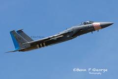 F15C-LN-84-0010-15-5-19-RAF-LAKENHEATH-(1) (Benn P George Photography) Tags: raflakenheath 15519 bennpgeorgephotography f15c f15d ln 48fw 493fs heritagejet 840010 840046 eagle mcdonnelldouglas boeing usairforce usaf nikon d7100 nikon200500 ddayjet