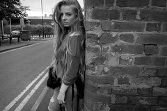 Pink Flag (plot19) Tags: britain british blackwhite blackandwhite love light liv manchester model family fashion fasion uk north northern northwest now sony rx100 wall black street plot19 photography portrait people teenager daughter
