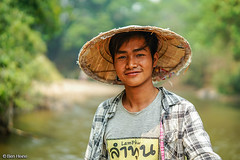 Thailand Nature and People - Ben Heine Photography (Ben Heine) Tags: jungle portrait exotic nature courage thai asianboy china chineseboy rivermaetang hat discovery wild smileofthailand exotism experience chiangmai mud village thailand holidays smile guide woodenboat guidedtour tourist elephantcamp asian plants maehongson raftdriver boy raft rafting countryside man chinese summer maetangcamp wildness thaiboy river beautiful tour green work tourism tropical