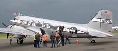 Douglas C-53 N8336C (707-348C) Tags: weston westonairport eiwt dc3 c53 douglasdc3 dakota executive passenger douglas propliner piston prop airliner n8336c ireland daksovernormandy 2019 dak jmair civilairtransport