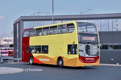 Go Ahead East Yorkshire 722, YX57BWD. (EYBusman) Tags: eybusman yx57bwd b9tl volvo 400 enviro dennis alexander station centre city citycentre interchange coach bus hull services motor yorkshire east north ahead