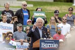 Bernie in Montpelier (Vermont Lenses) Tags: bernie montpelier capital vermont