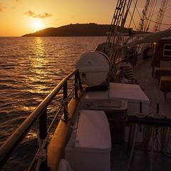 Sunset in the Caribbean aboard the Island Windjammer ship Vela (Lee Edwin Coursey) Tags: instagram ifttt travel caribbean windjammer 2019 islandwindjammers leeco leecoursey