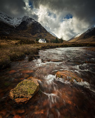 glencoe flow (akh1981) Tags: sky scotland scenic walking wideangle water rocks river rain beautiful benro nikon nisi nature nisifilters mountains moody morning hiking highlands landscape outdoors countryside clouds valley travel trees