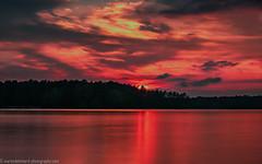 Dawn (Steppenwolf33) Tags: sunset lake dawn twilight müggelheim köpenick steppenwolf33 water sky longexposure