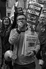 Socialist Worker (fotoragtag) Tags: national demonstration palestine palestinian israel freedom peace march london street socialist worker gaza strip murder israeli free human rights politics