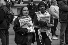 Socialist Worker sellers (fotoragtag) Tags: national demonstration palestine palestinian israel freedom peace march london street socialist worker israeli murder gaza strip free human rights politics