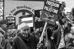 Freedom for Palestine (fotoragtag) Tags: national demonstration palestine palestinian israel freedom peace march london street socialist worker campaign nuclear disarmanment free human rights politics