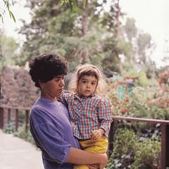 Mom & Daughter (poavsek) Tags: portrait film kodak yashica vericolor