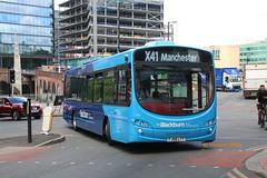 Lancashire United 1865 (FJ58 LTT) (SelmerOrSelnec) Tags: lancashireunited volvo b7rle wright fj58ltt blackburnbuscompany manchester deansgate x41 burnleyandpendle bus