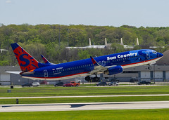 Sun Country Airlines Boeing 737-8BK(WL) N822SY (MIDEXJET (Thank you for over 2 million views!)) Tags: milwaukee milwaukeewisconsin generalmitchellinternationalairport milwaukeemitchellinternationalairport kmke mke gmia flymke suncountryairlinesboeing7378bkwln822sy suncountryairlines boeing7378bkwl n822sy boeing7378bk boeing737800 boeing737 boeing 737 737800 7378bk