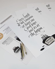 In collaborazione con www.calligraphystore.it e Handwritmic