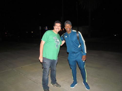 Me and Lorenzo Armenteros
