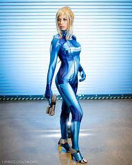 Samus (S1Price Lightworks) Tags: zero suit samus metroid nintendo awesomecon 2019 cosplay girl cosplayer bodysuit scifi gamer game canon eos