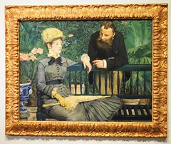 In the Conservatory (Brule Laker) Tags: chicago illinois manet art painting artinstituteofchicago museums artmuseums artgalleryandmuseums berlin monumentsmen