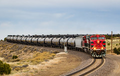 Ludlow,CO (Kyle Yunker) Tags: fxe ferromex bnsf spanish peaks train ethanol general electric es44ac