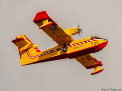 Gouvernement du Quebec / Canadair CL-215T / C-FASE / YQB (tremblayfrederick98) Tags: canadair cl215 yqb waterbomber quebeccity quebec