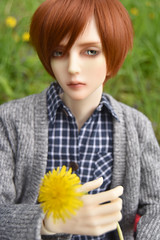 Dandelion (flameonchoi) Tags: joon bjd ringdoll sol merlin kpop fashion photography anime manga boys love eyeco shinee vixx punk cute flowers nature