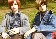 Passing Time (flameonchoi) Tags: ringdoll merlin kay sol norman kpop fashion photoshoot photography bjd asian korean chinese japanese love picnic