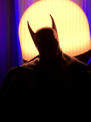 Ascending Knight (misterperturbed) Tags: ascendingknight batman mezco mezcoone12collective one12collective lifx phillipshue