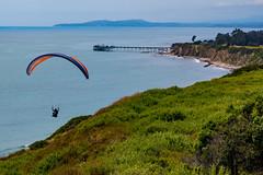 Paragliding near Carpinteria (Daren Grilley) Tags: paraglide parasail parachute beach ocean pacific santa barbara nikon z6 2470