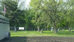 Gethsemane Cemetery, St. Augusta (Elizabeth Almlie) Tags: minnesota gethsemanecemetery cemetery sign staugusta saintaugusta fairhaven